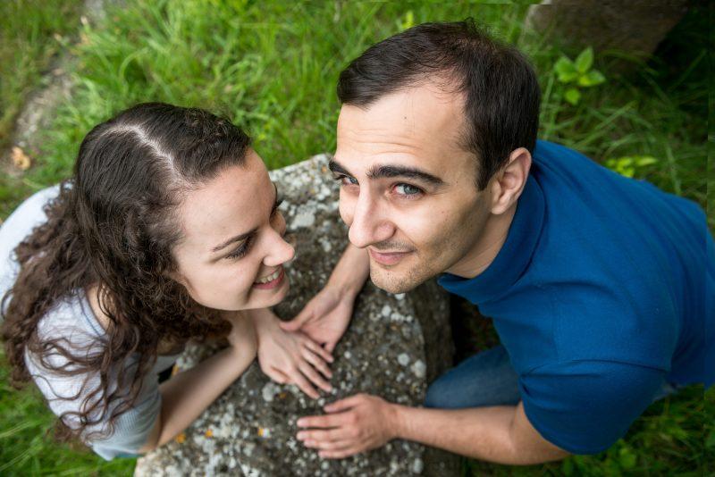séance photo couple dans l'Aude
