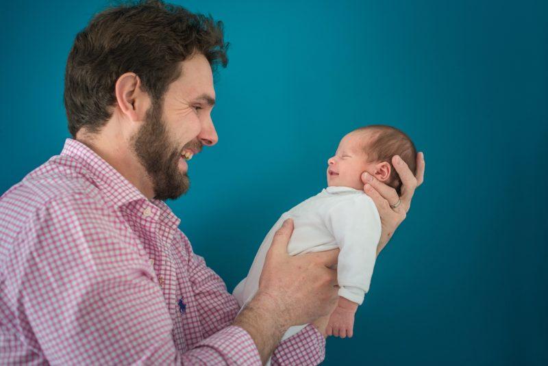 Le papa et son bébé