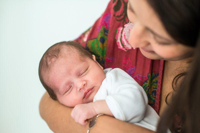 La maman et son bébé dans l'Hérault